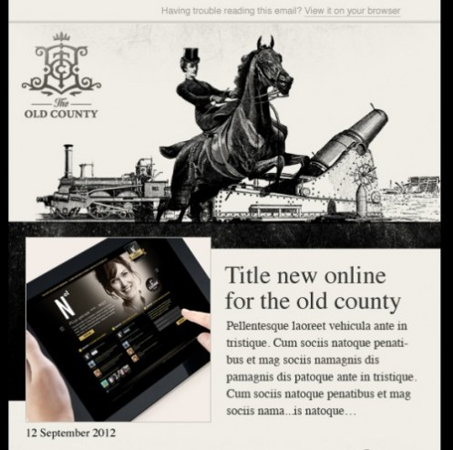New Design of our Newsletter